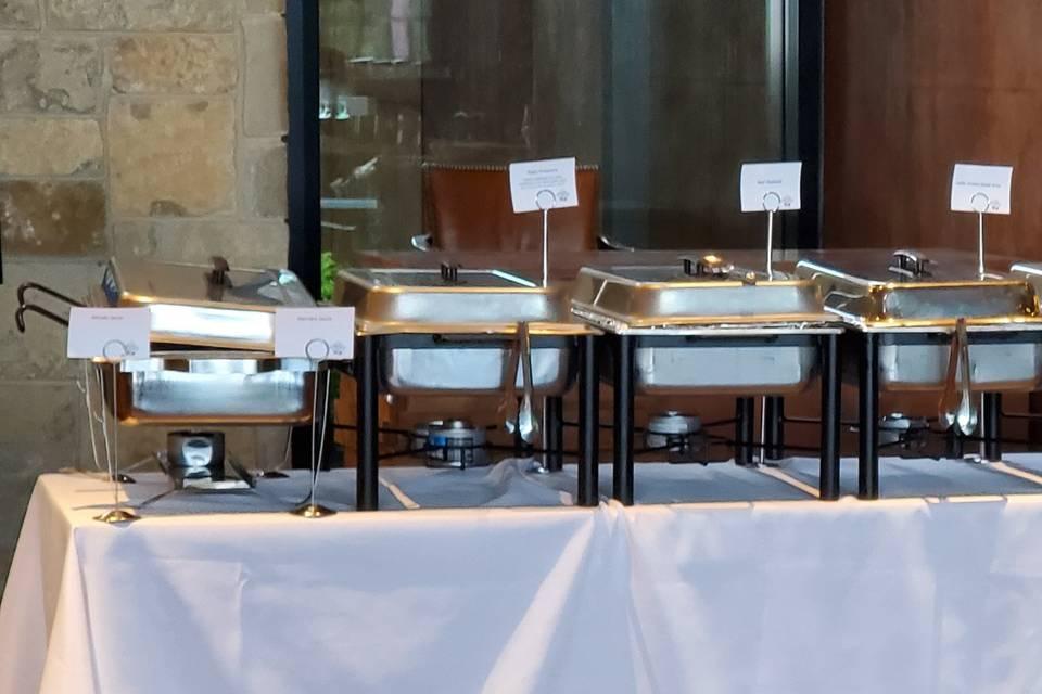 Pasta bar buffet