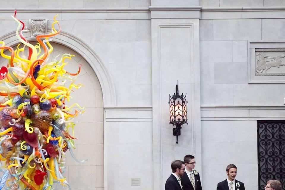 Columbus Museum of Art Wedding