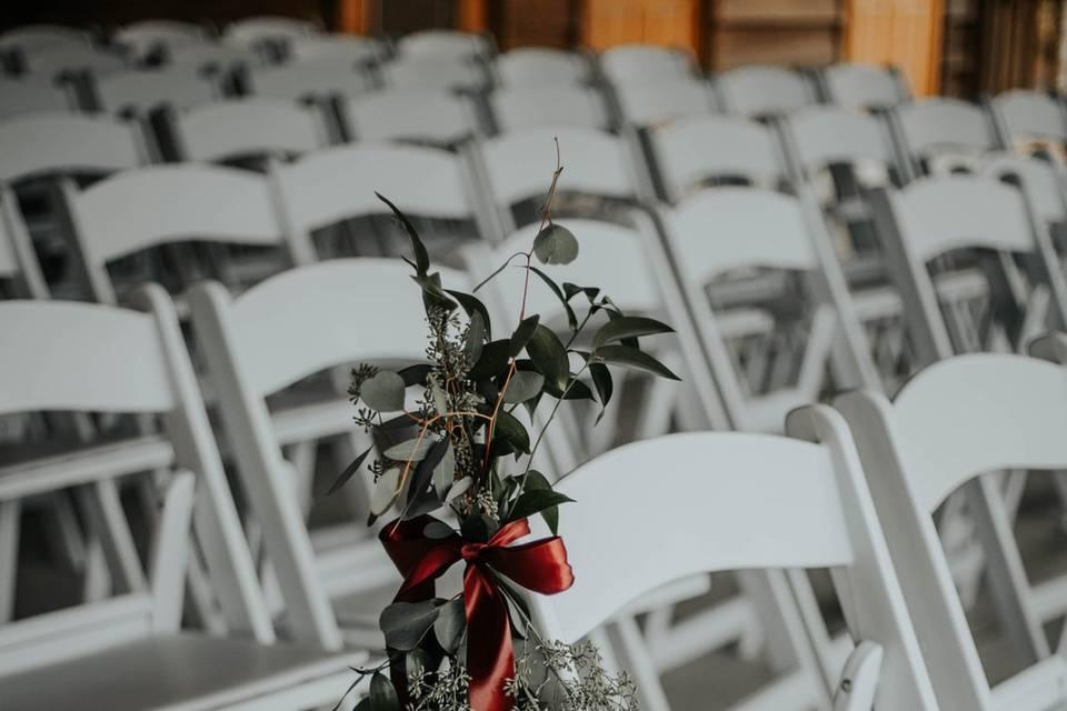 White chair rentals