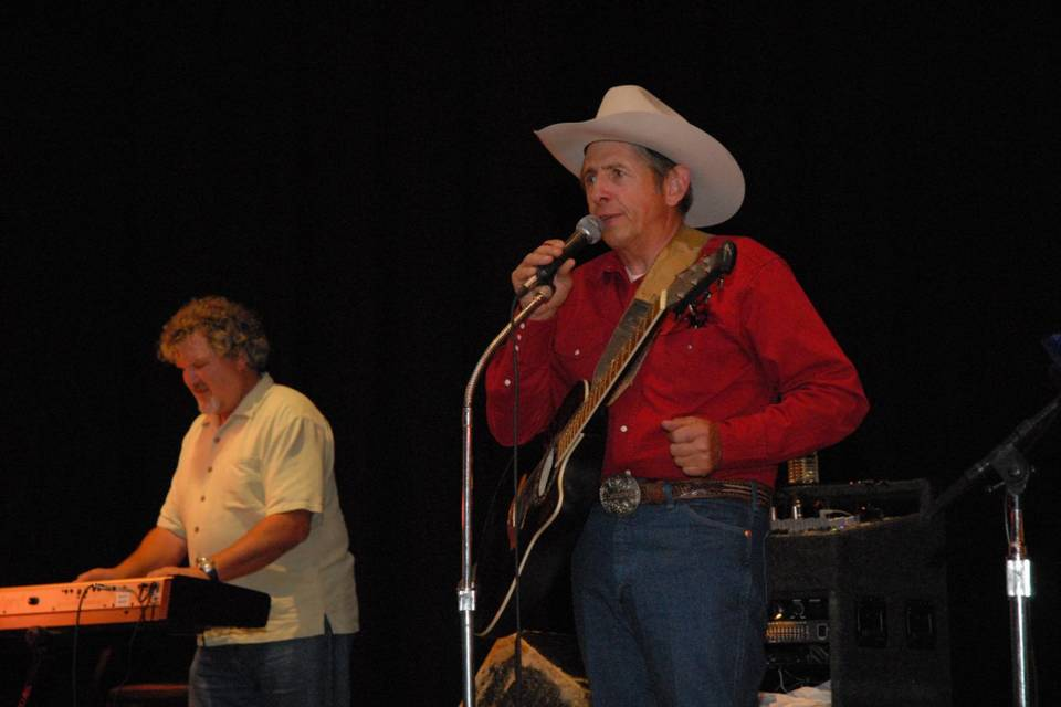 Monte Mills and the Lucky Horseshoe Band