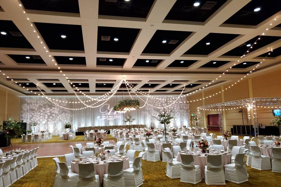 Grand Ballroom DEFGH