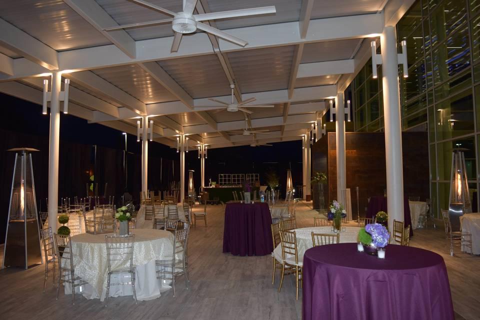 Front Porch_Wedding Reception Decor