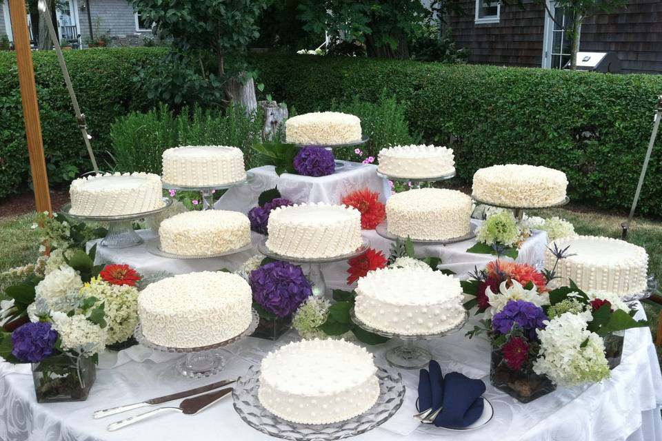 Cake Table - installation