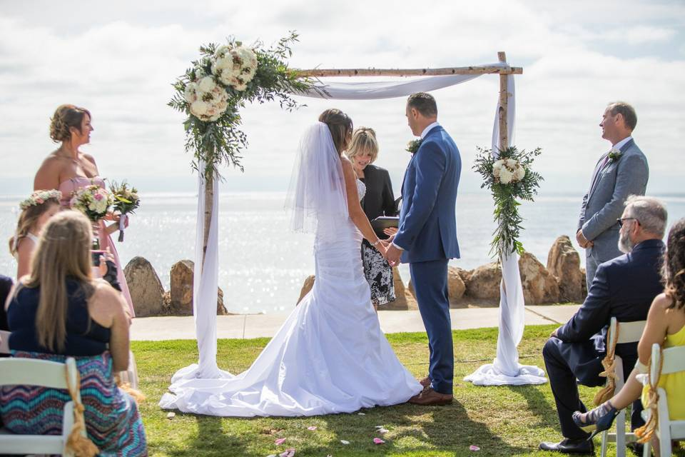 Seaside Beach Wedding San Diego