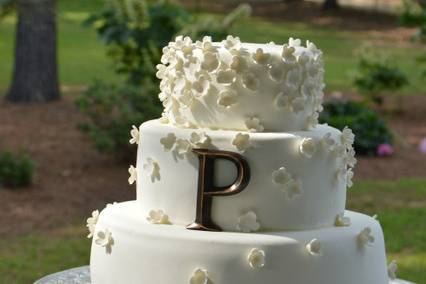 Multi-tiered cake