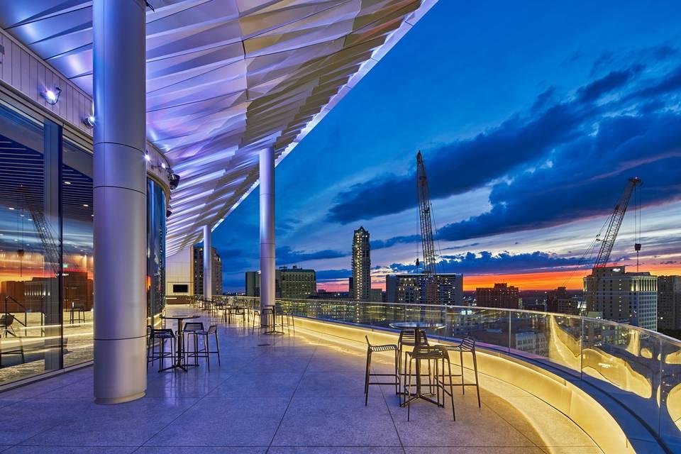 Night Terrace View