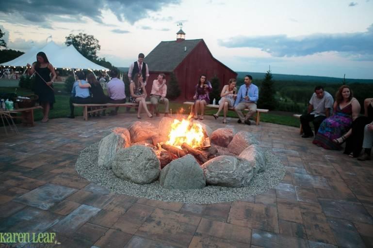 Center bonfire