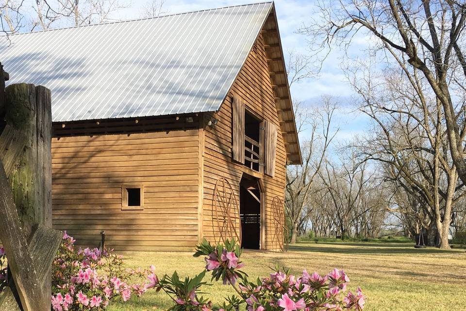 The historic barn