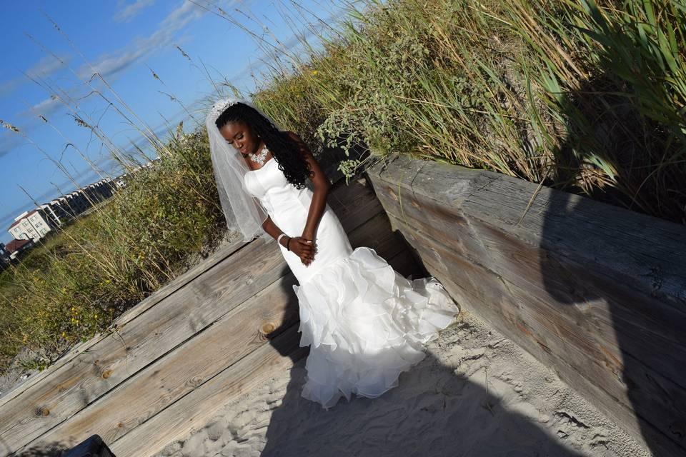 Gordon Wedding - Bride