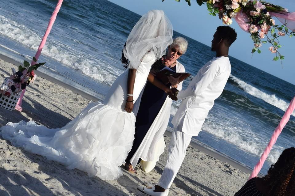 Gordon Wedding - Vow Ceremony