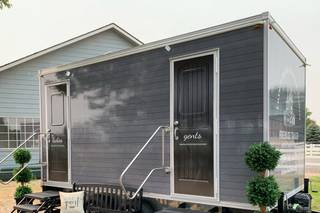Luxury Mobile Restrooms by Firehouse Trailer Rentals LLC