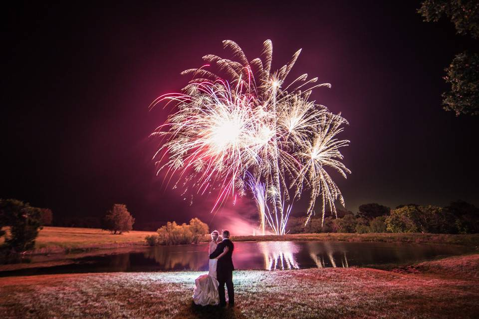 Surprise firework finale