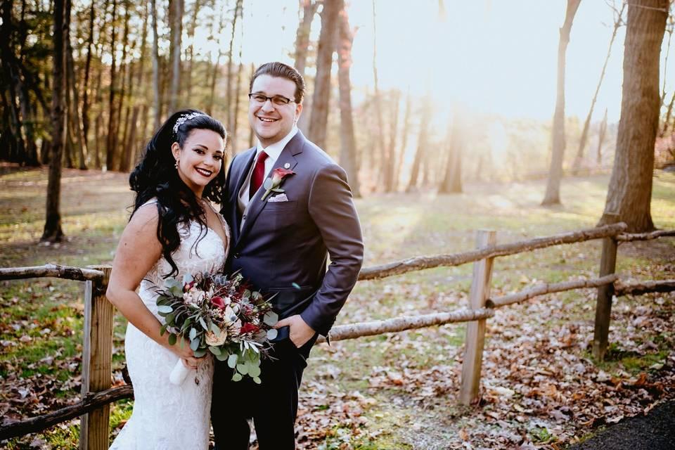 Couple at Arrow Park