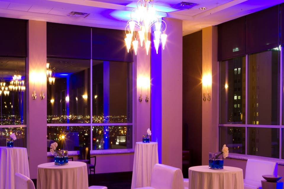 Skyline views for your event