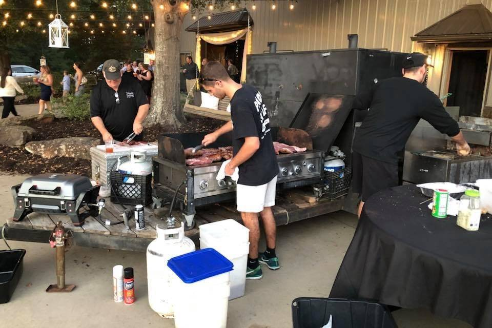 Onsite Grill & Smoker Cooking