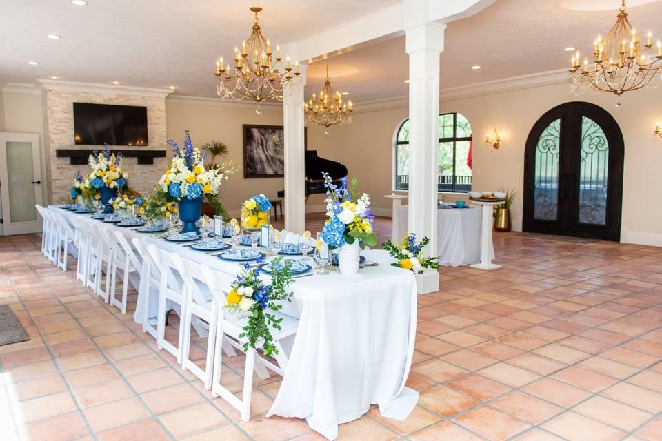 Indoor Reception-Zion Villa