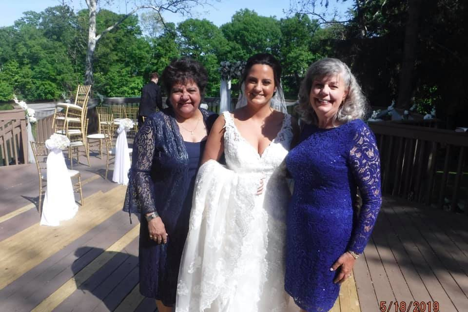 Uplifted Mother of the Bride