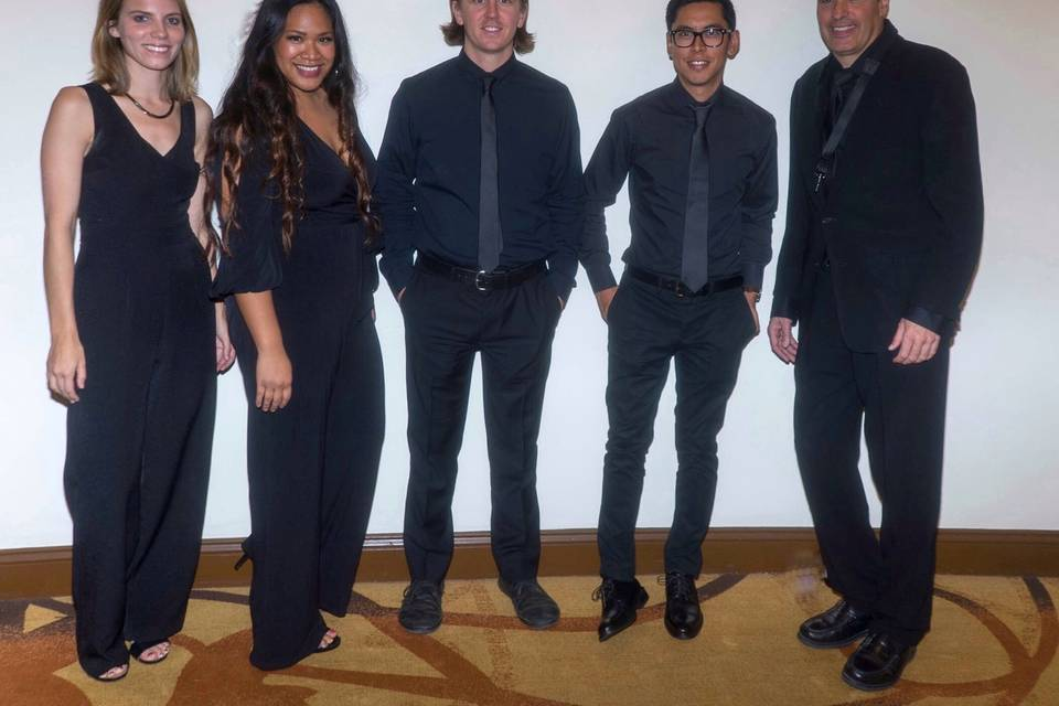 5-piece event band
