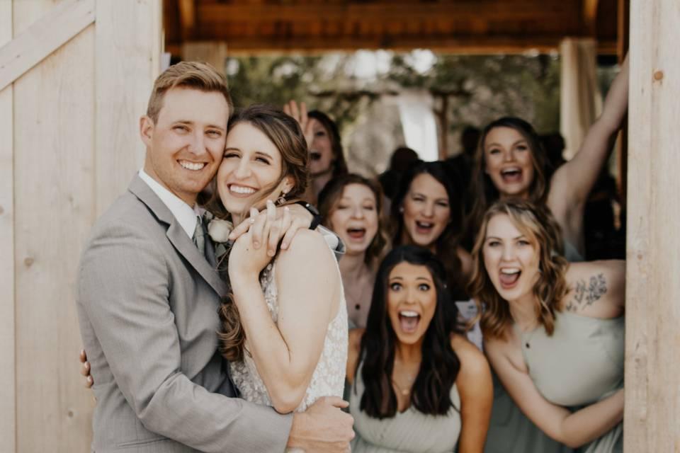 Bridesmaids Surprise