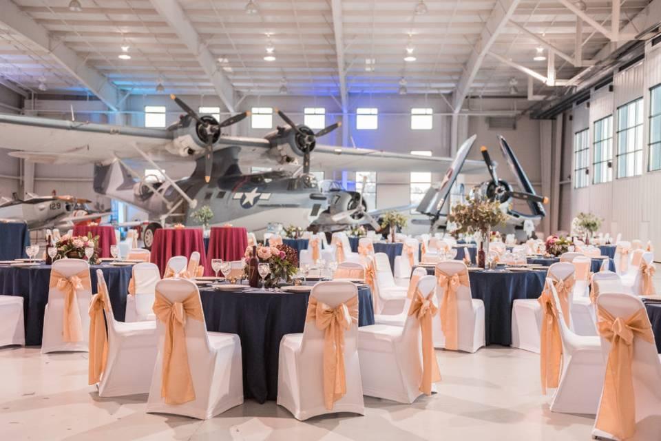 Navy Reception area