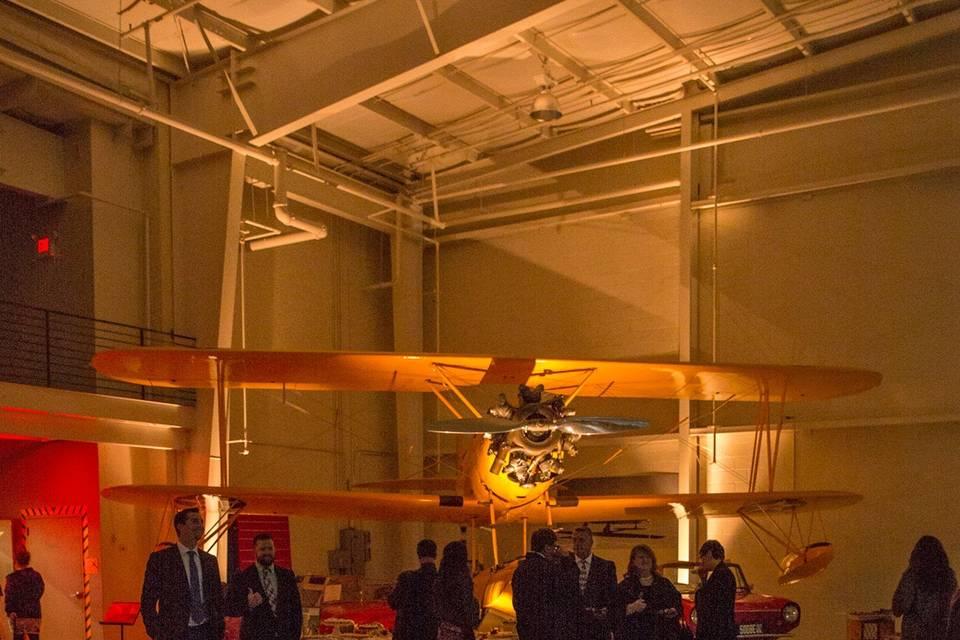 Reception in the Navy Hangar