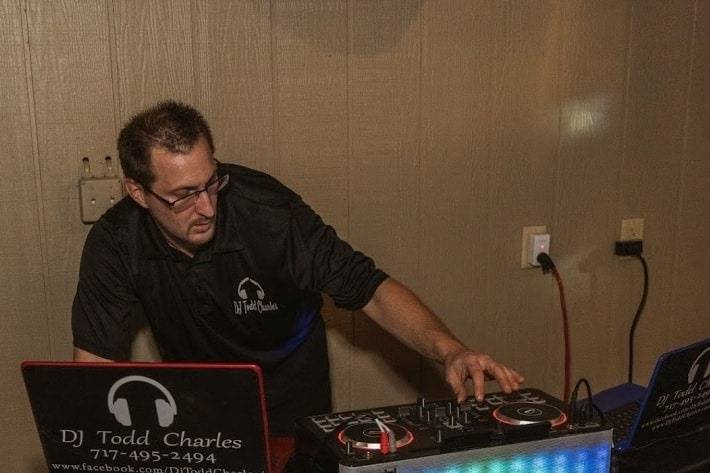 DJ Todd in action