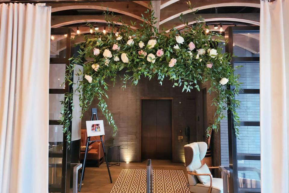Hanging arrangement