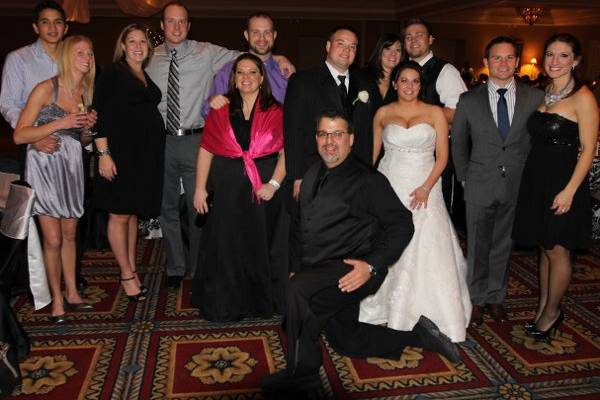I was honored to have 6 couples who are clients at Shannon & Tom's wedding! Thanks so much!