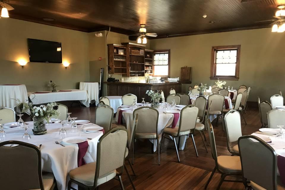 Green Room banquet