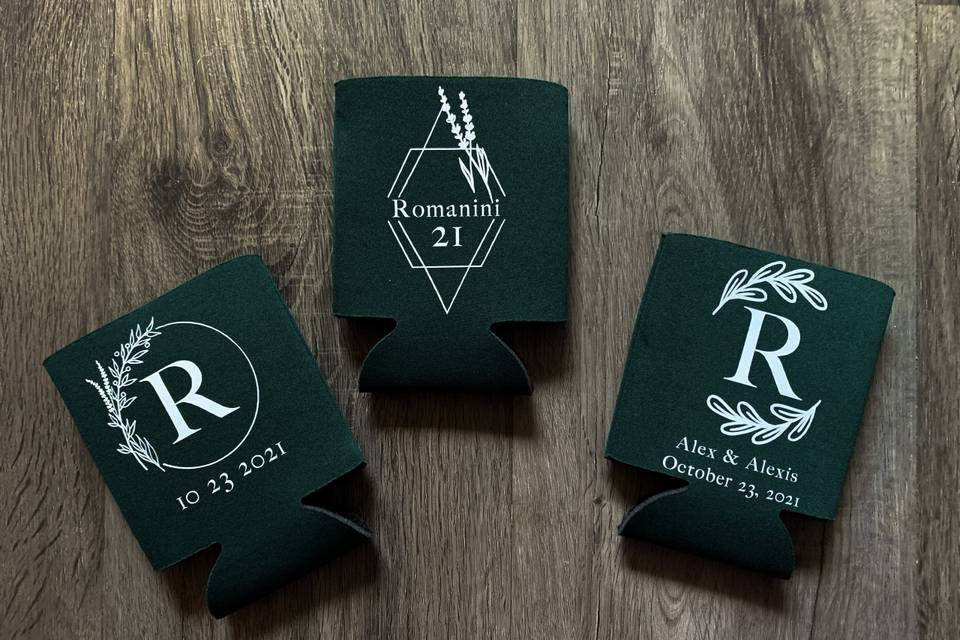 Personalized Coozies