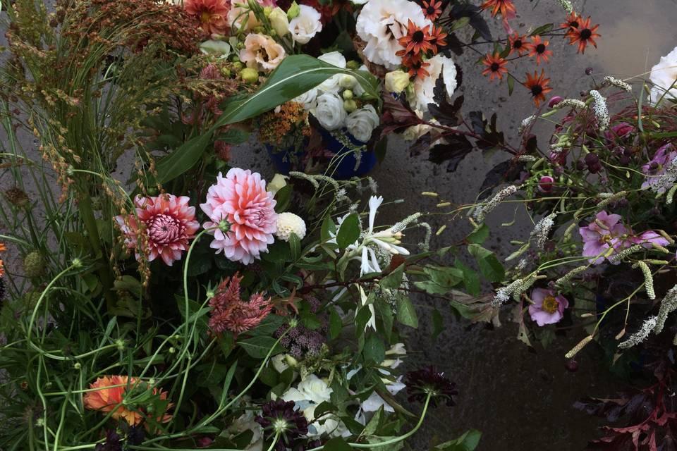 Bulk wedding flowers.