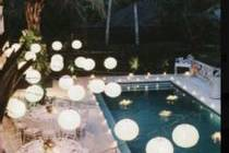 Pool & Pool patio dinner set u