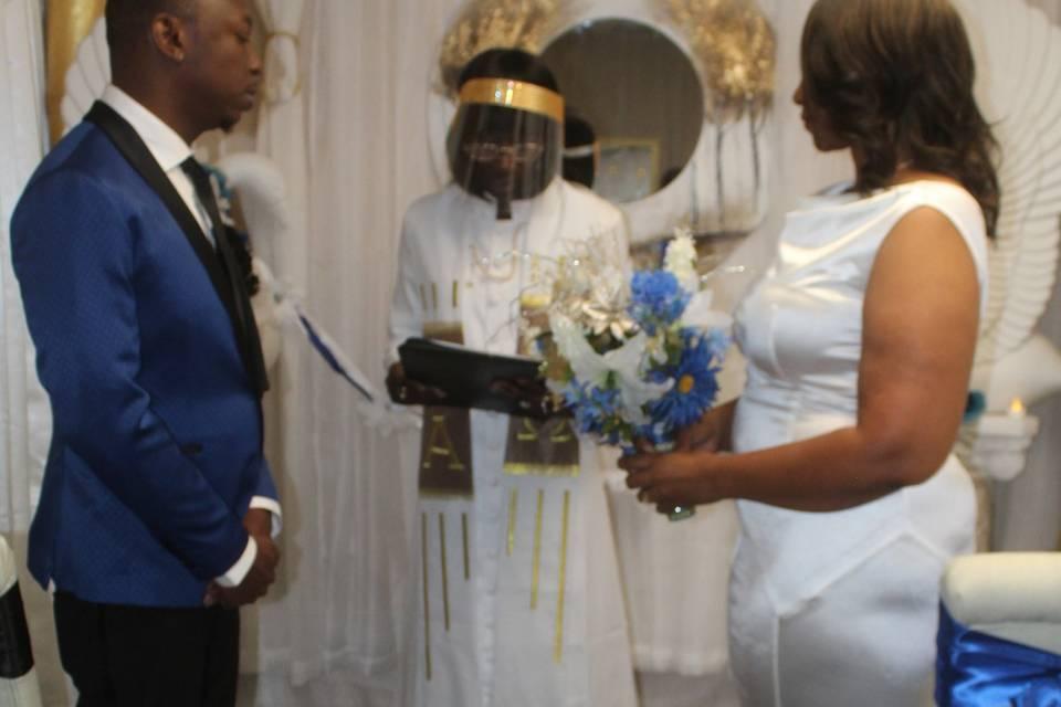 A Royal Chapel wedding..