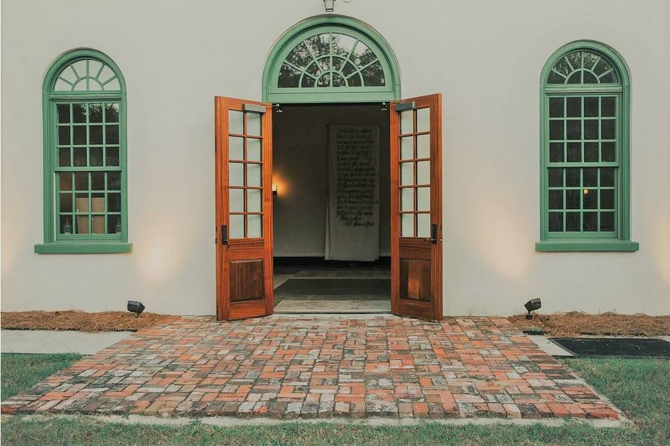 French Door Entrance