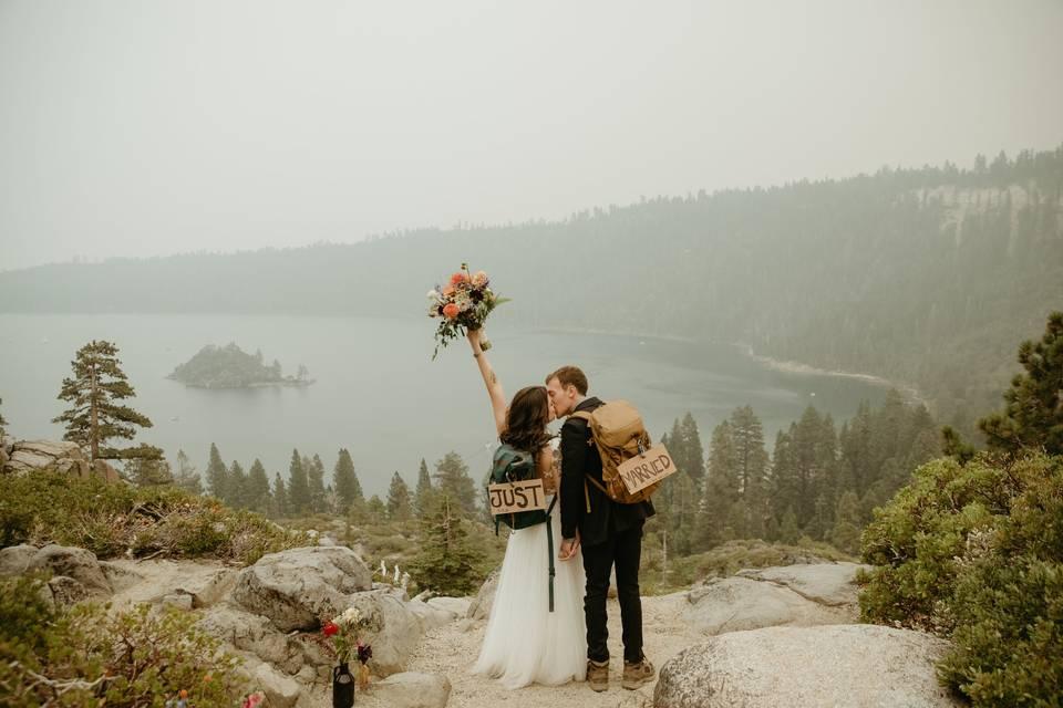 Lake Tahoe Micro Wedding