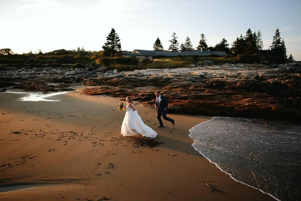 Reid State Park Wedding