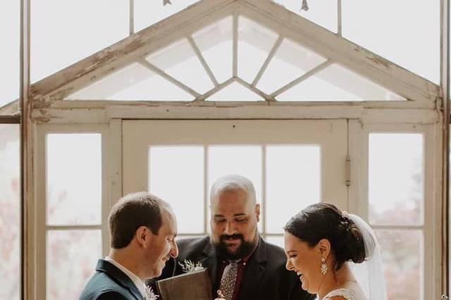 Josh's first wedding