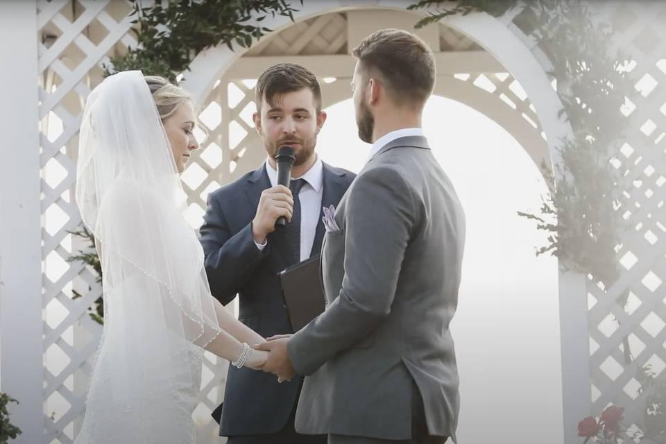 Wedding in Minot, ME
