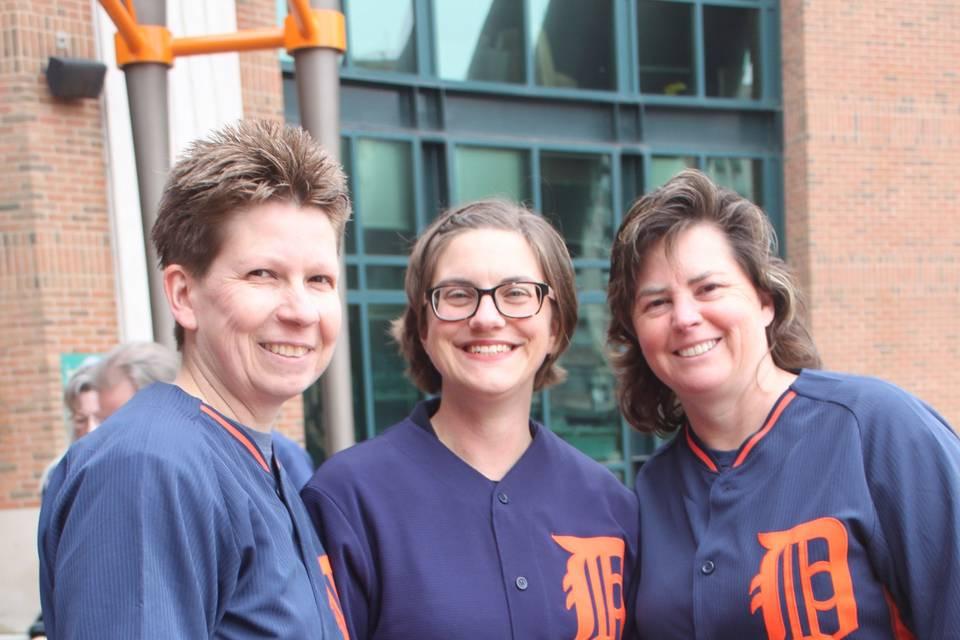Tigers Fans wedding