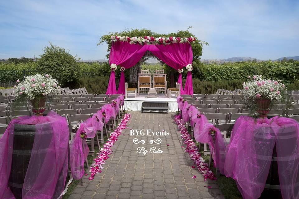 Violet events