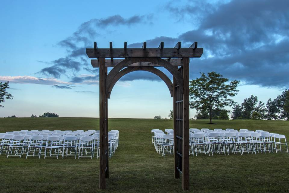 Wedding Ceremonies on our 900'