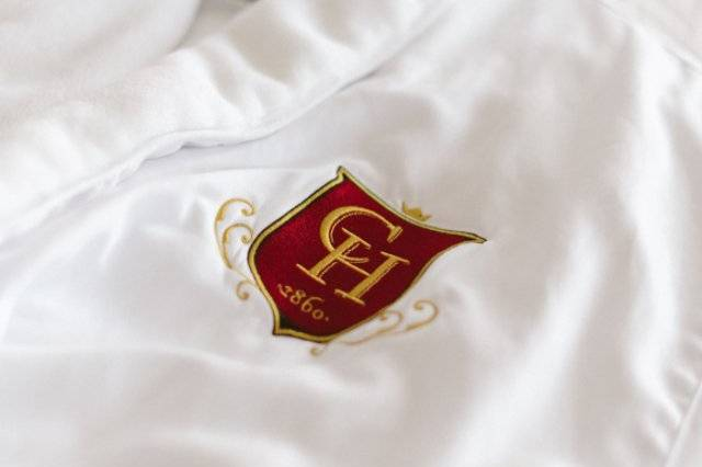 Monogrammed robes
