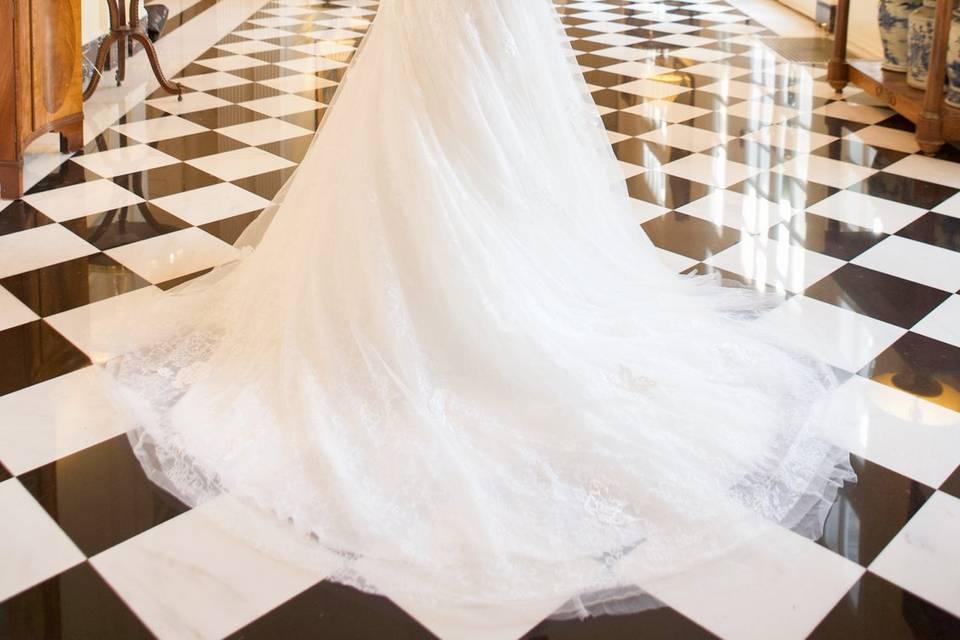 Beautiful Bride | Hair by Tiffany