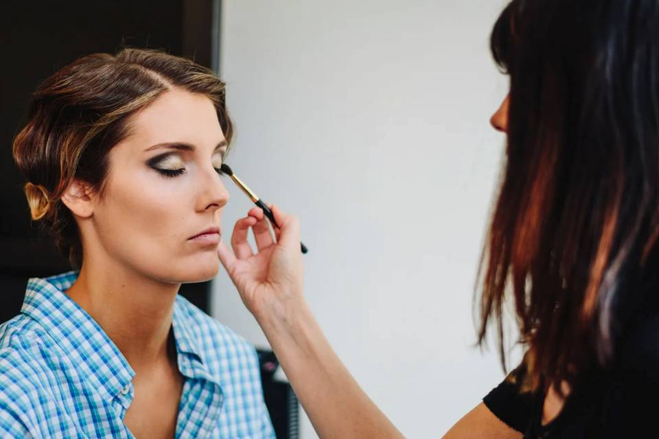 Pampered session | Hair and Makeup by Ashley