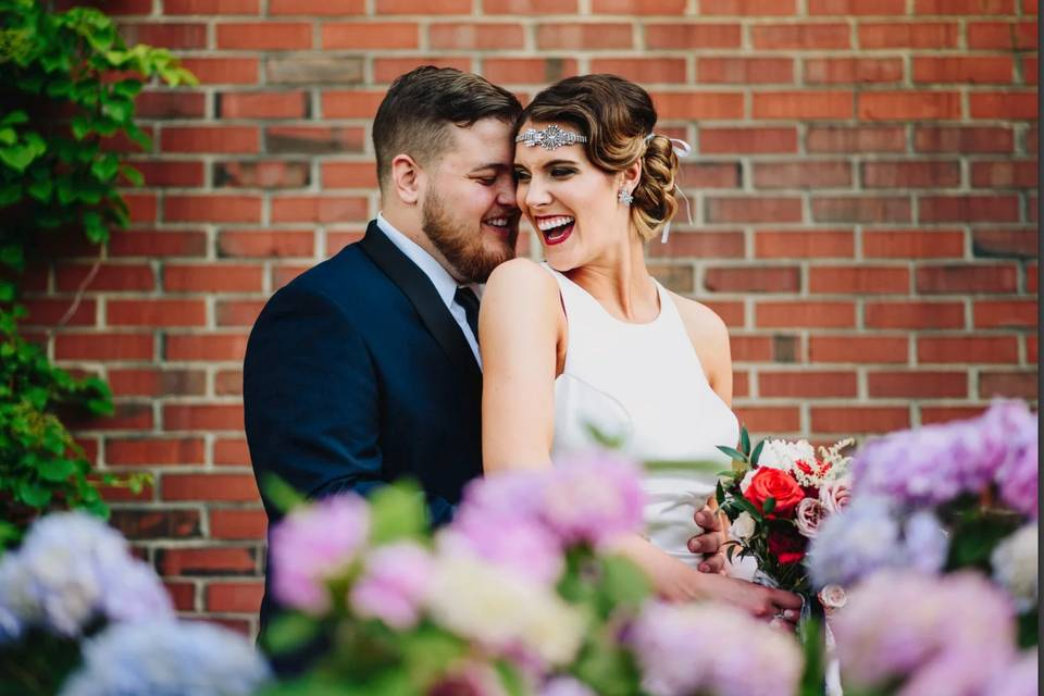 Newlyweds | Hair and Makeup by Ashley