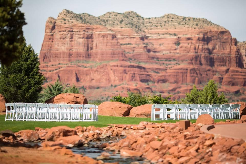 Overview of resort