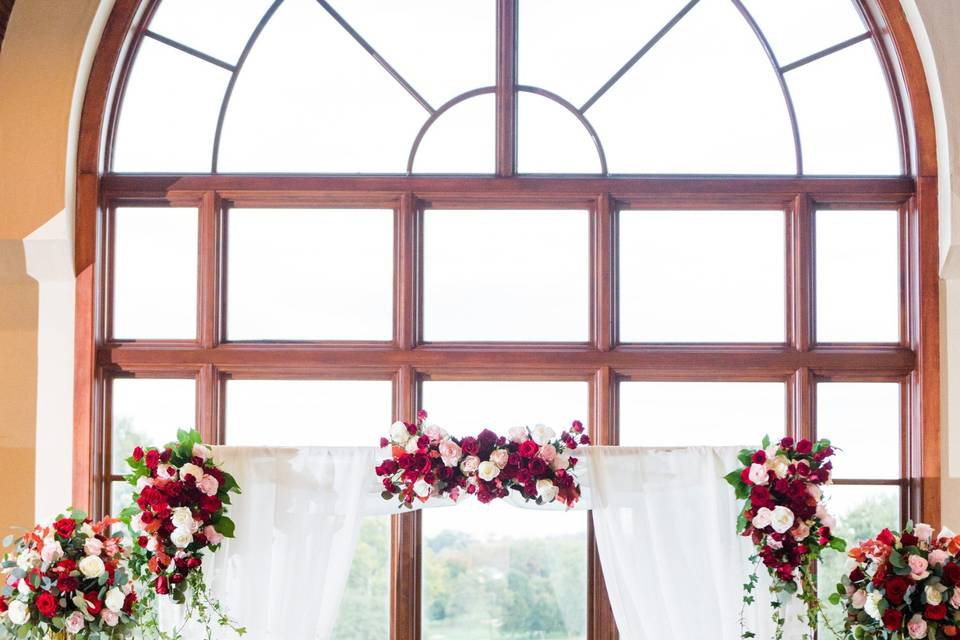 Ceremony in Grille Room