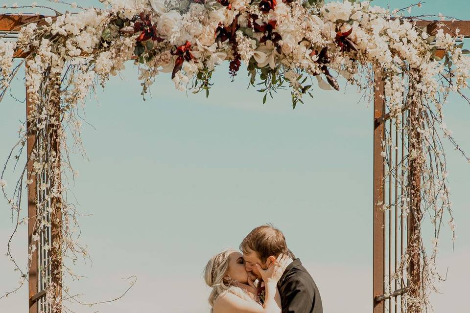 A shared kiss