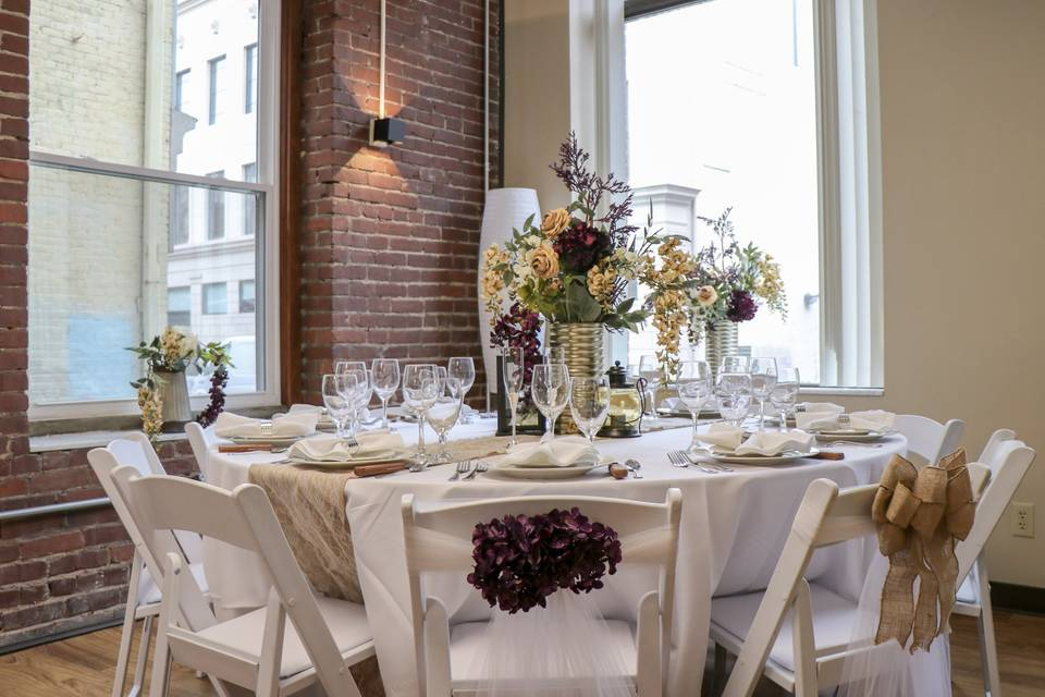 Charming event space
