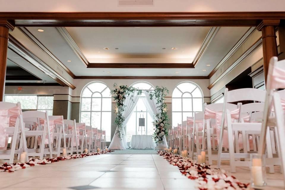 Indoor Ceremony location